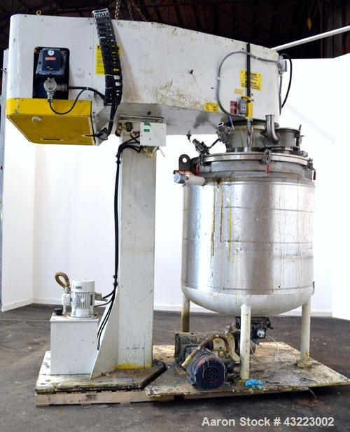 Used- Stainless Steel Schold Concentric Triple Shaft Tri-axial Disperser
