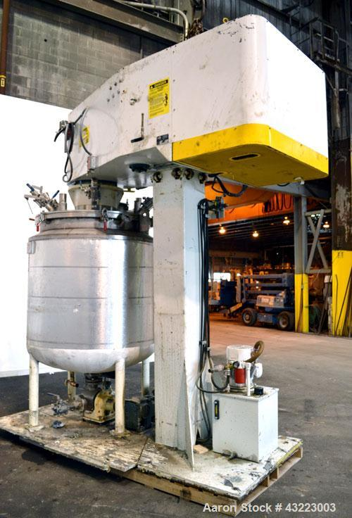 Used- Stainless SteelSchold Concentric Triple Shaft Tri-axial Disperser
