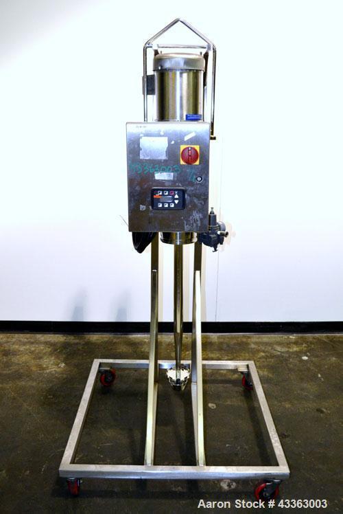 Used- Scott Turbon Top Mounted Mixer, Model TMS3B7.5