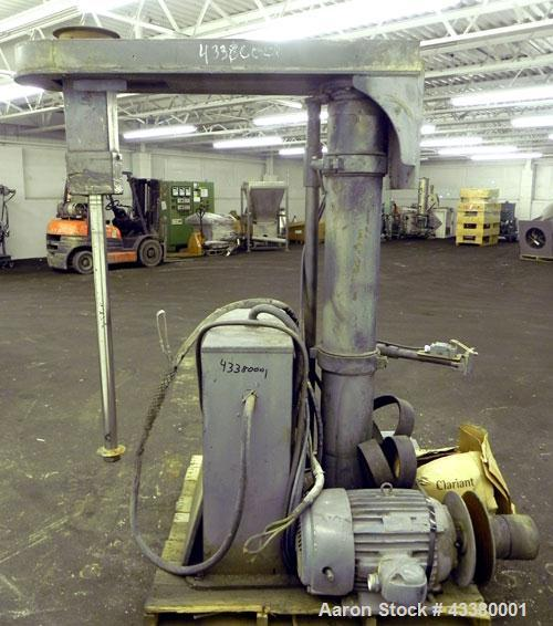 """Used- Shar Disperser, Model D300N. (1) 2-1/4"""" Diameter x 41"""" long 304 stainless steel shaft. Will center in a container up t..."""