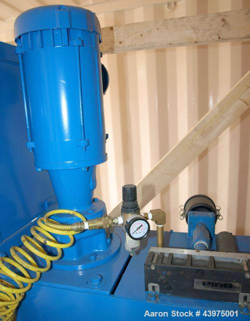Used-Shar Systems Dual Shaft Disperser, Model Dual Shaft, mixing speed 0-9360 rpm.