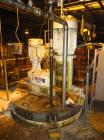 Used-Ross Dual Shaft Mixer including an Anchor agitator and high speed disperser mounted on a 1,000 gallon stainless steel t...