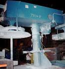 Used- Hockmeyer Single Shaft Disperser, Model HHL-II-550. 3