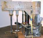 Used- Mooney Machine Manufacturing Dual Shaft Disperser