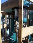 Used- Mooney High Speed Disperser. 2'' Diameter x 47'' long stainless steel shaft with a 14'' diameter blade. Driven by a 20...