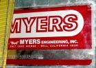 Used- Myers Heavy Duty Disperser, Model 800E-100-50. 3-1/2