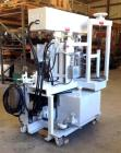 Used- Myers Triple Shaft Mixer/Disperser, Model HVL 550/500-7.5-1242. Approximately 4 gallon, 10.5