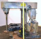 Used- Schold Variable High Speed Disperser, Model 30 VHS. Approximately 3'' diameter tapered carbon steel shaft with a 14