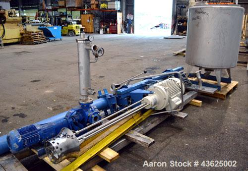 Used- Van Wyk Systems Stand Frame Homo Mixer, Model VV-15-PZ-1/1000-NR.2