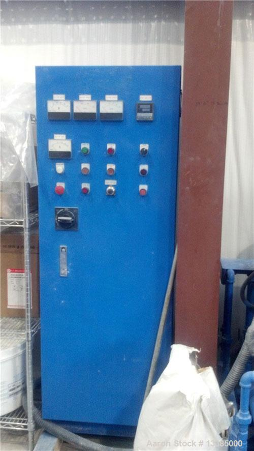 Used-Kneader 2TE-20, 20 liter batch preformer/pressureless extruder, stainless steel at all material contact points.  Includ...
