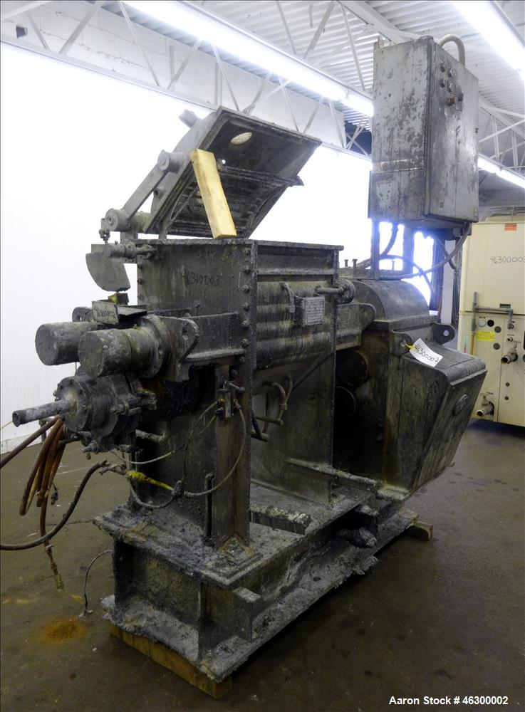 Used- AMK Class III Double Arm Mixtruder, 21 Gallon Working Capacity