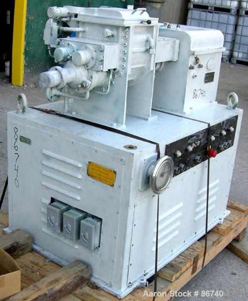 Used- AMK Mixtruder, Type V1U-4, 1 Gallon Working Capacity