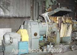 """USED: AMK mixer/extruder, model VIU-250L, 66 gallon working capacity. Carbon steel. Jacketed bowl 30"""" left to right x 30"""" fr..."""