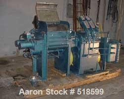 "USED: AMK Mixer-Extruder, 20 gallon working capacity. 19-5/8"" left-right x18-1/4"" front-back x 14.5"" deep. Stainless steel c..."