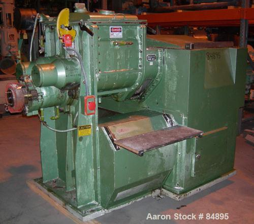 USED: Baker Perkins-Guittard mixer extruder, type ME15SL, 316 stainless steel. 26.5 gallon working capacity, 39.6 total. Car...