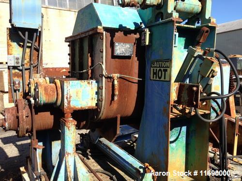 Used- Day mixer/extruder, 75 gallon working capacity