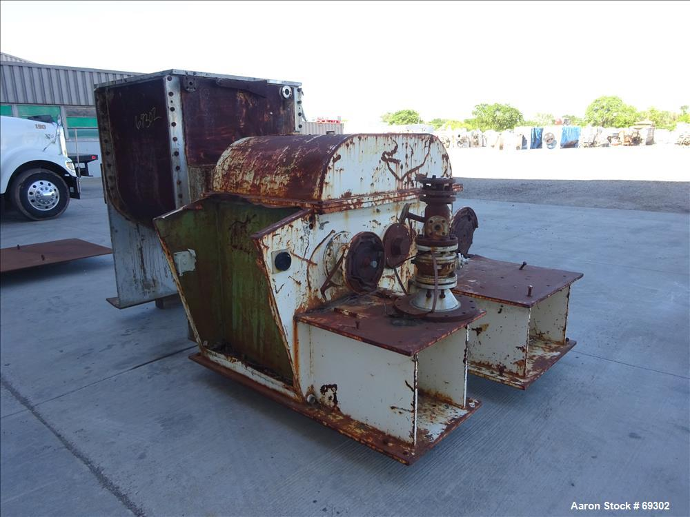 Used: 304 Stainless steel Linden mixtruder, model KIII 450A