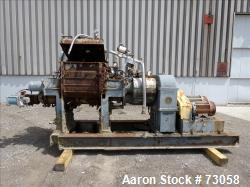 Usd: Carbon Steel AMK mixer/extruder, model VIU-250L, 66 gallon working capacity