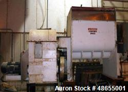 "Used- AMK Mixer/Extruder. 150 gallon working capacity, 347 stainless steel. Non-jacketed bowl approximately 39-3/4"" front to..."