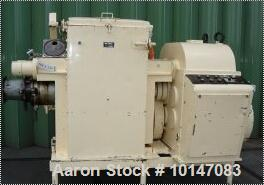 Used-MIAG Braunschweig Mixer/Extruder, type VI-U-250L. Material of construction is carbon steel. Capacity 66 gallons (250 li...
