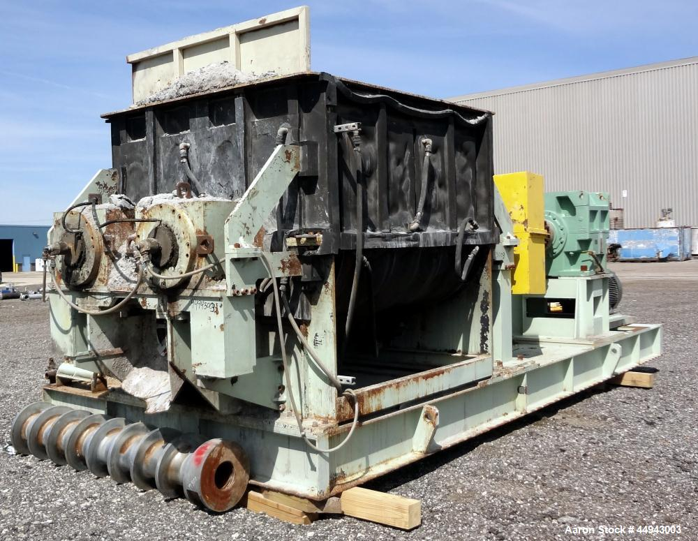 Used- MIG Constant Feeder Mixtruder, Model TF2000.  Approximately 792 gallon wor