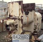 Used- Mixer-Extruder, Approximate 150 Gallon Working Capacity, Carbon Steel.  Non-jacketed bowl measures approximately 43 1/...