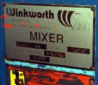 Used- Winkworth Machinery Mixer Extruder, Model 63ZL/EMX, Approximate 2500 Liter (660 Gallon) Working Capacity, 3800 Liter (...
