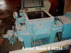 Used: Werner and Pfleiderer Mixer/Extruder, 21 Gallon Working Capacity, Carbon S