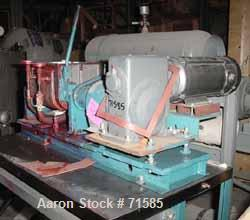 USED:Aaron Process Machinery double arm mixer 14L, 2 gallon workingcapacity (7.5 liters), 3.7 gallon total capacity (14 lite...