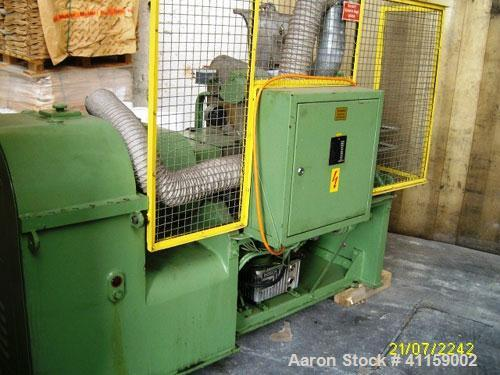 Used-AMK Double Mixer/Kneader, type II U 40, material of construction is stainless steel on product, working capacity 10.6 g...
