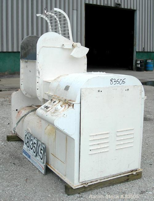 """USED: AMK double arm mixer, 52.8 gallon working capacity (200 liter), model IIU, carbon steel. Non-jacketed bowl 27-1/2"""" lef..."""
