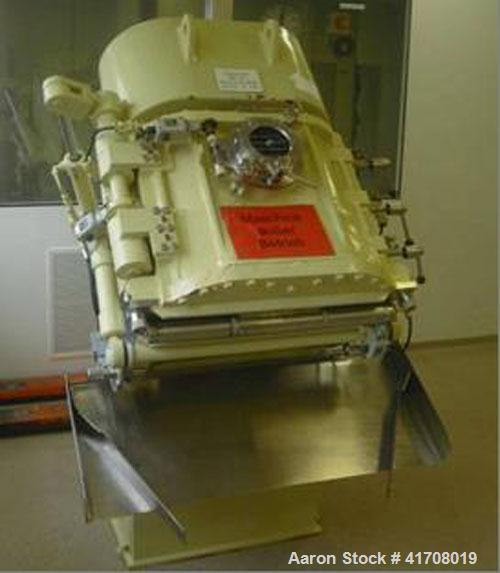 Used-AMK VIS-K Mixer, total volume 30 gallons (110 liters), stainless steel on product contact parts, 220/380V/50 hz, 5.6 hp...