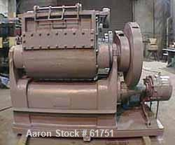 Used: (Reconditioned) Baker Perkins model #15 double arm sigma blade mixer, 100