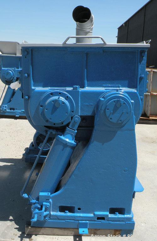 "Used- Baker Perkins Double Arm Mixer, Model 15, 100 Gallon Capacity, Carbon Steel. Jacketed bowl 33"" left to right x 38"" fro..."