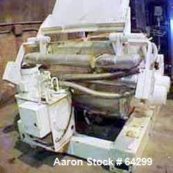 Used: Carbon Steel Baker Perkins Guittard double arm mixer.