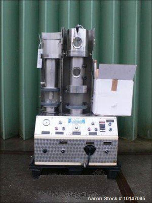 Used-Baker Perkins Z-Blade Mixer, stainless steel, capacity 211 gallons (800 liters), working pressure vacuum, jacketed, tro...
