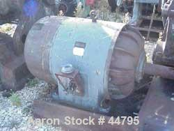 """USED:Baker Perkins 100 gal double arm mixer. Stainless steel.Jacketed bowl and ends (est 80 psi). Bowl 28"""" L-R x 43"""" F-B, ap..."""