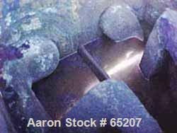 "USED: Baker Perkins double sigma blade mixer, 500 gallon, size20MWOL, carbon steel. Bowl 58-1/2""L-R x 65-1/2""F-B x 50-1/2"" d..."