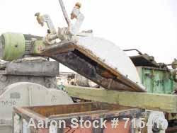 Used- Baker Perkins Double Arm Mixer, (Like a Kobe) Approximate 10 Gallon Working Capacity, Carbon Steel. Jacketed bowl, 20-...