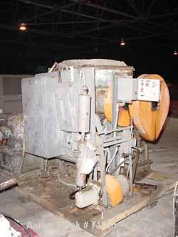 Used: Carbon Steel Baker Perkins JIMII double arm mixer, 100 gallon working capacity