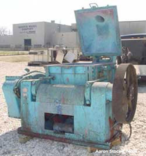 Used: Stainless Steel Baker Perkins double arm mixer