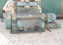 Used:Baker Perkins double arm mixer, low boy design