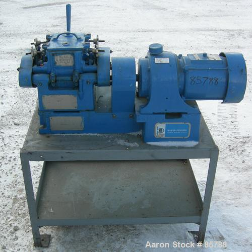 Used: Carbon Steel Baker Perkins Lab Size Double Arm Mixer