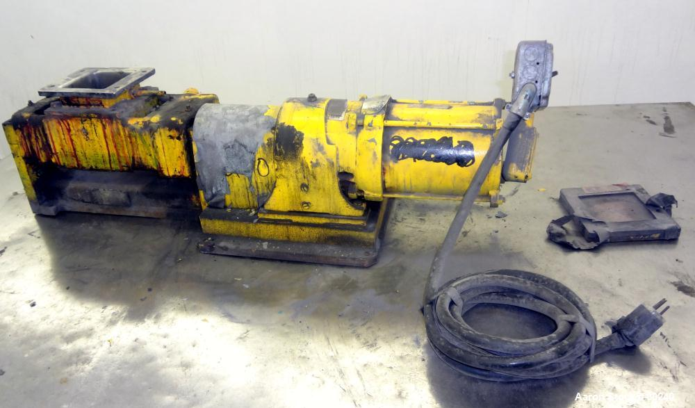 Used- Baker Perkins Laboratory Double Arm Mixer, Approximate 0.12 Gallon Working Capacity, 316 Stainless Steel. Carbon steel...