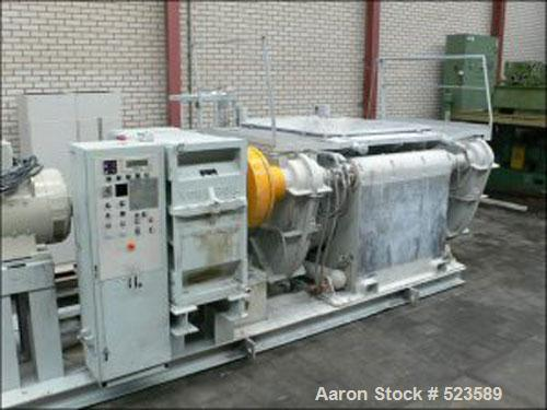 USED: Buss Z-blade mixer, type SR-3000. Material of construction is stainless steel. Capacity 3090 liter, working capacity 5...