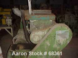 Used: Fritz Meili double arm mixer, type 40 LNS, lowboy type. Carbon steel, 10.6 gallon (40 liter) working capacity