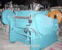 USED: Meili double arm mixer, type LNS600. 316 stainless steel (V4A) construction. Working capacity 160 gallon (600 liter). ...
