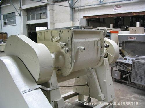 Used-Guittard M 57L Sigma Blade Mixer.  Total capacity 132 gallons (500 liters), working capacity 772 lbs (350 kg).  Carbon ...