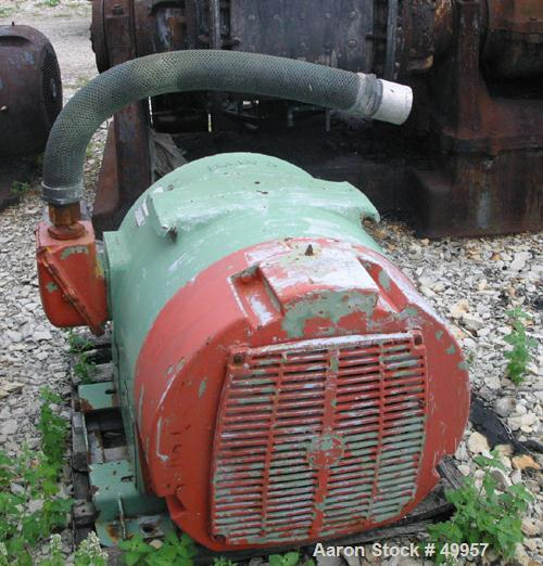 """USED: J H Day Cincinnatus double arm mixer, 550 gallon working capacity (868 total), carbon steel. Jacketed bowl 66"""" left to..."""