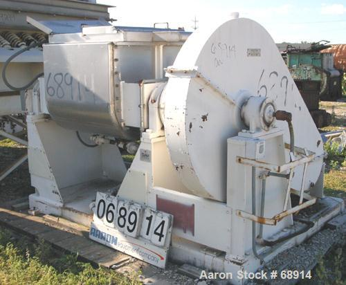 Used- Day Double Arm Mixer, 50 Gallon Working Capacity, 100 Gallon Total, 304 Stainless Steel